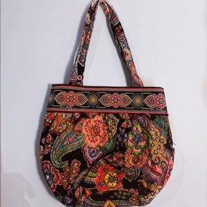 Pink Paisley Print Vera Bradley Bag